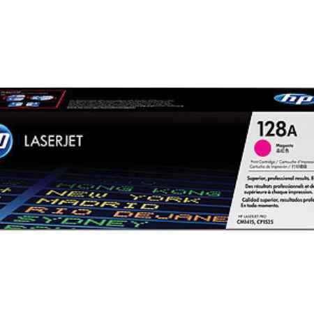 Купить HP для принтеров LaserJet Pro CP1525N/CP1525NW 128a пурпурного цвета 1300 страниц