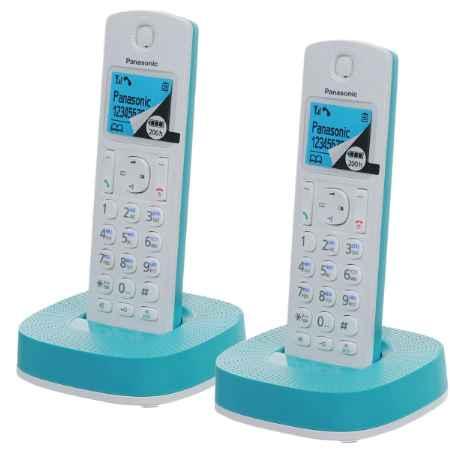 Купить Panasonic KX-TGC312RUC белый/синий