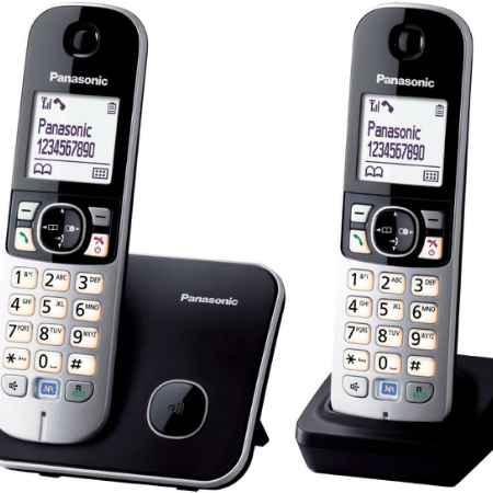 Купить Panasonic KX-TG6812 черный