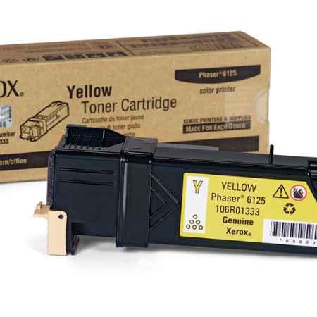 Купить Xerox для принтеров Phaser 6125 желтого цвета 1000 страниц