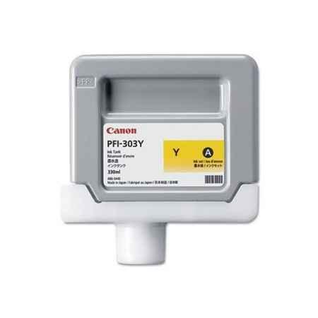 Купить Canon для принтеров imagePROGRAF iPF810i/iPF815/iPF820/iPF825 PFI-303 желтого цвета