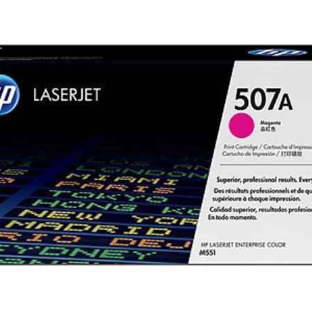 Купить HP для принтеров Color LaserJet M551 507A пурпурного цвета 6000 страниц