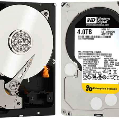 Купить Western Digital PC 300GL 6278-SJG WD4001FYYG 4 ТБ 7200 об./мин.