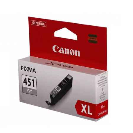 Купить Canon для принтеров Pixma iP7240/MG6340/MG5440 CLI-451GY серого цвета 780 страниц