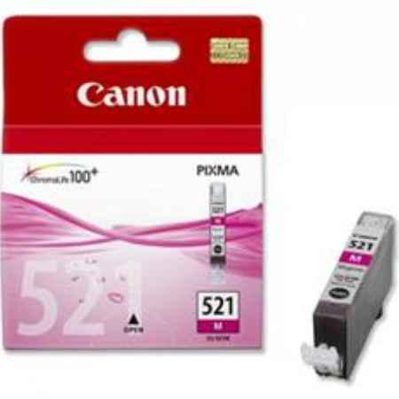 Купить Canon для принтеров Pixma iP3600/iP4600 CLI-521 пурпурного цвета 505 страниц