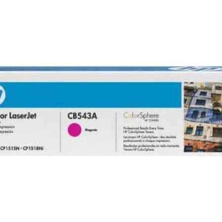 Купить HP для принтеров LaserJet CP1215/CP1515n/CP1518ni и многофункциональных устройств CM1312nfi пурпурного цвета 1400 страниц