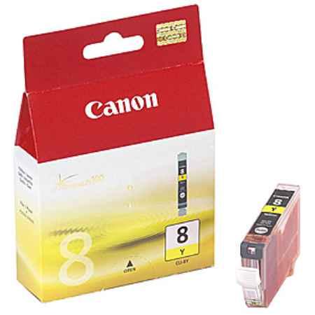 Купить Canon CLI-8Y желтого цвета