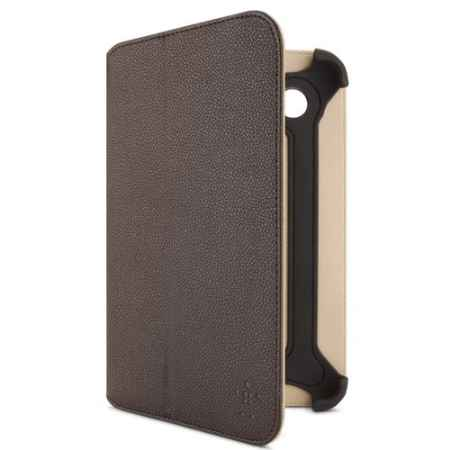 Купить Belkin Components Bi-Fold Folio F8M386CWC01 brown цвета