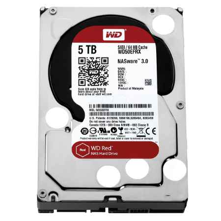 Купить Western Digital Red WD50EFRX WD50EFRX 5 ТБ IntelliPower