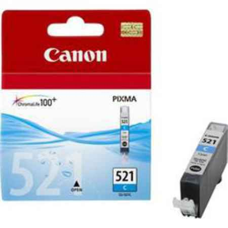 Купить Canon для принтеров Pixma iP3600/iP4600 CLI-521 голубого цвета 505 страниц