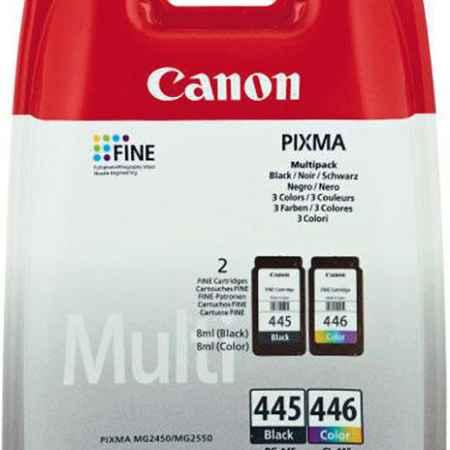 Купить Canon PG-445 + CL-446 цветн., черного цвета 180 страниц