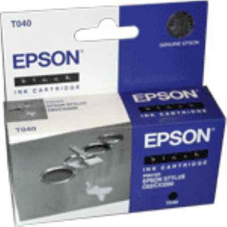 Купить Epson T040 черного цвета 420 страниц