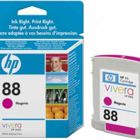 Купить HP для принтеров Officejet Pro K550/K5400/L7580/L7680/L7780 88 Vivera пурпурного цвета 620 страниц