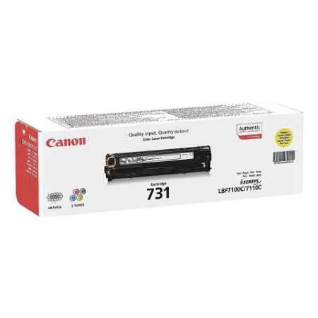 Купить Canon для принтеров I-Sensys LBP7100C/7110C 731y желтого цвета 1500 страниц