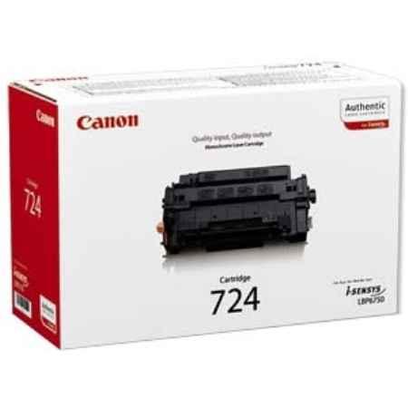 Купить Canon для принтеров i-SENSYS LBP6750Dn 724 черного цвета 6000 страниц