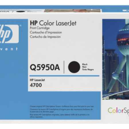 Купить HP для принтеров Color LaserJet 4700 черного цвета 11000 страниц