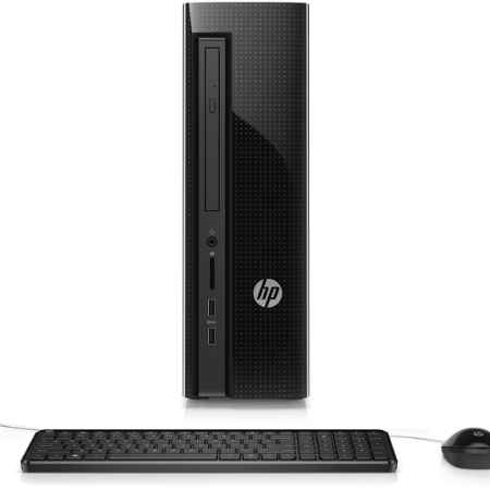 Купить HP Slimline 450-a22ur N1X09EA Intel Celeron / J1800 / 2.41 ГГц / 2 ГБ DDR3-L / 500 ГБ / Intel HD Graphics / DOS / настольный slim
