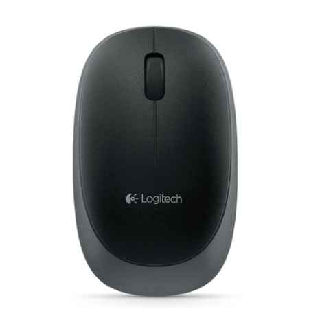 Купить Logitech Wireless M165 черный