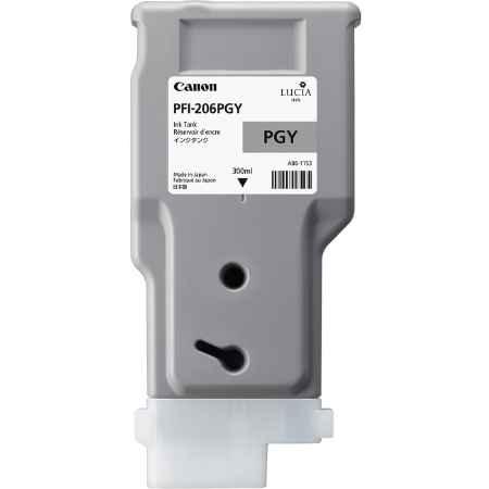 Купить Canon PFI-206 PGY серого цвета (фото)
