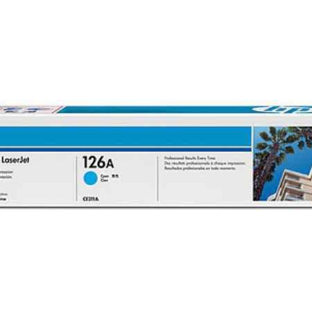 Купить HP для принтеров LaserJet CP1025/P1025NW 126A голубого цвета 1000 страниц
