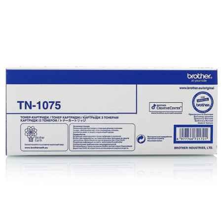 Купить Brother для принтеров HL-1110R/1112R, DCP-1510R/1512R, MFC-1810R/1815R TN-1075 черного цвета 1000 страниц