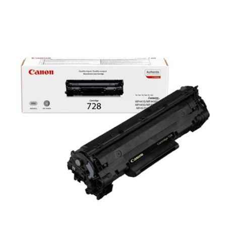 Купить Canon для многофункциональных устройств i-SENSYS MF4580dn/4570dn/4550dn/4450/4430/4410 728 черного цвета 2100 страниц