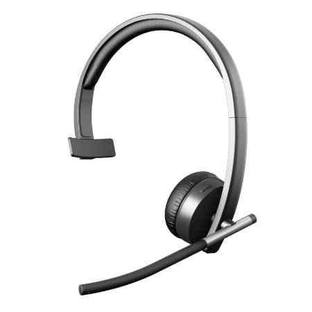 Купить Logitech Wireless Headset Mono H820e черного цвета