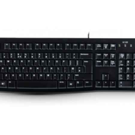 Купить Logitech K120 for business черный