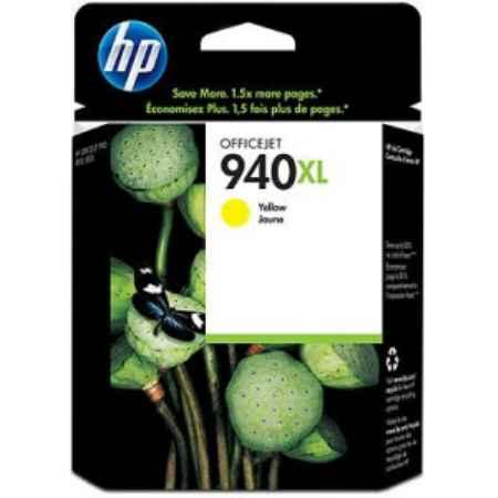 Купить HP для принтеров Officejet Pro 8000 / 8500 940XL желтого цвета 1400 страниц