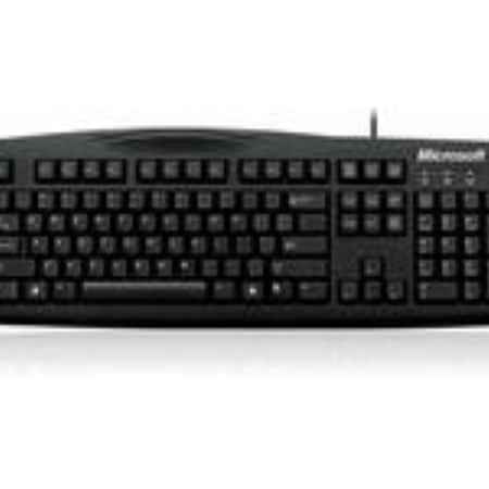 Купить Microsoft Wired Keyboard 200 черный