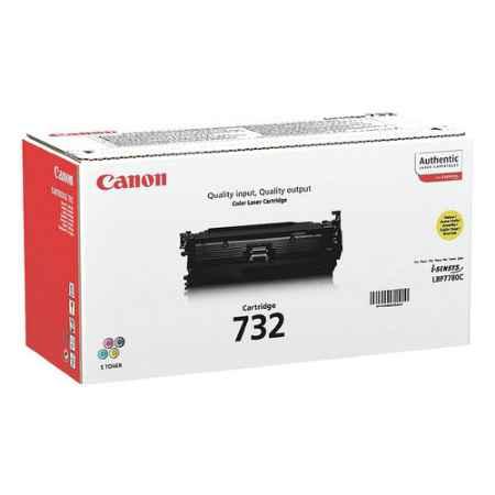 Купить Canon для LBP7100/7110 732Y желтого цвета 1500 страниц