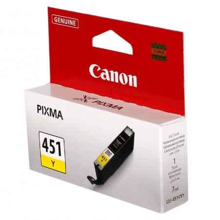 Купить Canon для принтеров Pixma iP7240/MG6340/MG5440 CLI-451Y желтого цвета 344 страниц