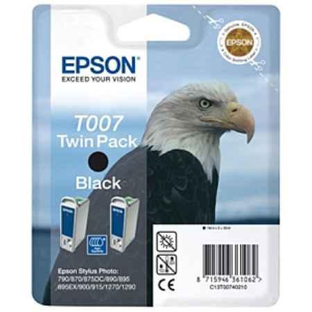 Купить Epson для принтеров Stylus Photo 870/890/895/900/915/1270/1290/1290S T007 черного цвета 540 страниц