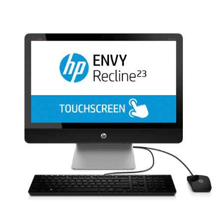 Купить HP ENVY Recline 23-k300nr All-in-One K2B38EA Intel Core i5 / i5-4590T / 2.0 ГГц / 8 ГБ PC3-12800 DDR3 SDRAM / 1000 ГБ / Nvidia GeForce GT 830А / Windows 8 /