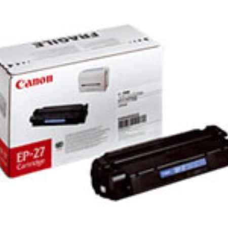 Купить Canon для принтера LBP-3200 и многофункциональных устройств LaserBase MF5630/MF5650/MF3110 EP-27 черного цвета 2500 страниц