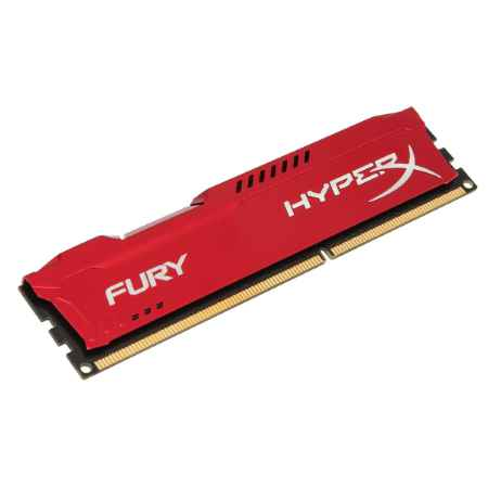 Купить Kingston HyperX Fury Red HX318C10FR/8
