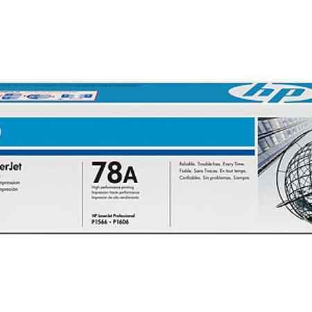 Купить HP для принтеров LaserJet Pro P1566, P1606dn 78a черного цвета 2100 страниц