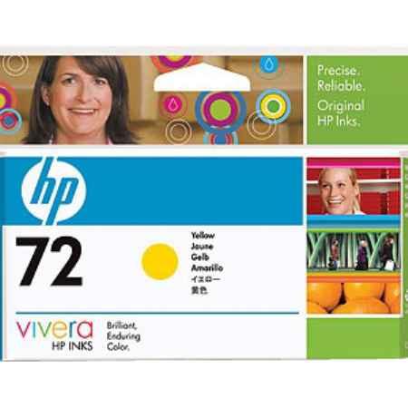 Купить HP для принтеров Designjet T1100/T610 72 желтого цвета
