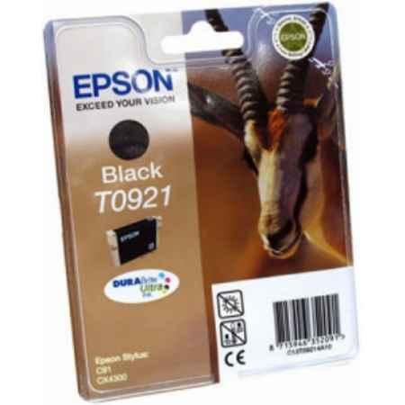 Купить Epson для принтеров Stylus C91/CX4300 T0921 черного цвета 250 страниц