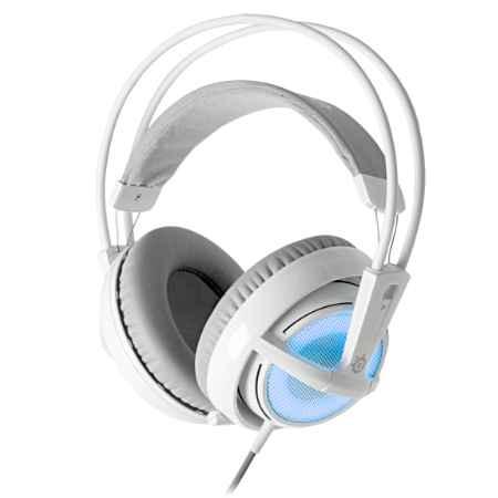 Купить SteelSeries Siberia v2 Frost белого/голубой цвета