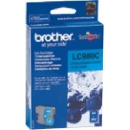 Купить Brother для многофункциональных устройств DCP-145C/165C/MFC-250C LC-980C голубого цвета 260 страниц