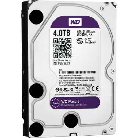 Купить Western Digital Purple WD40PURX WD40PURX 4 ТБ