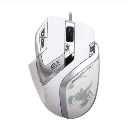 Купить Genius GX Gaming DeathTaker White Edition белый/с рисунком