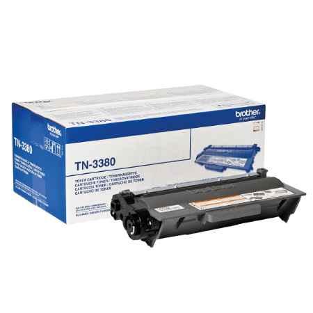 Купить Brother для принтеров HL-5440D/5450DN/5470DW/6180DW/DCP8110/8250/MFC8520/8950 TN-3380 черного цвета 8000 страниц