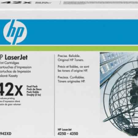 Купить HP для принтеров Color LaserJet 4250/4350 42X черного цвета 20000 листов