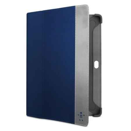 Купить Belkin Components Cinema Stripe Folio F8M392CWC01 blue цвета