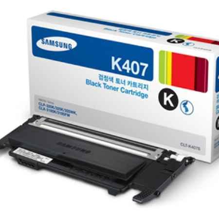 Купить Samsung для принтеров CLP-320/325W/CLX-3185 CLT-K407S черного цвета 1500 страниц