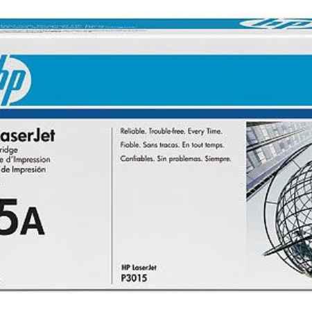 Купить HP для принтеров LaserJet P3015d/P3015dn/P3015x 55A черного цвета 6000 страниц