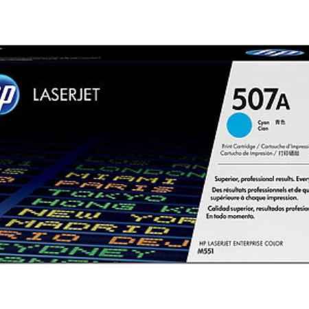 Купить HP для принтеров Color LaserJet M551 507A голубого цвета 6000 страниц