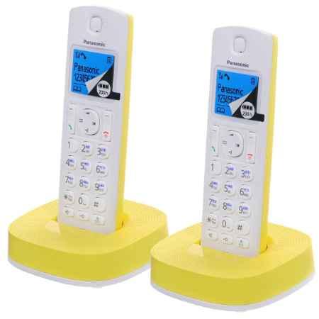 Купить Panasonic KX-TGC312RUY белый/желтый
